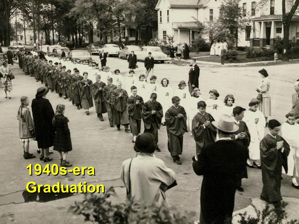 1940s-era Graduation