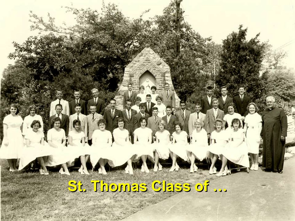 St. Thomas Class of …