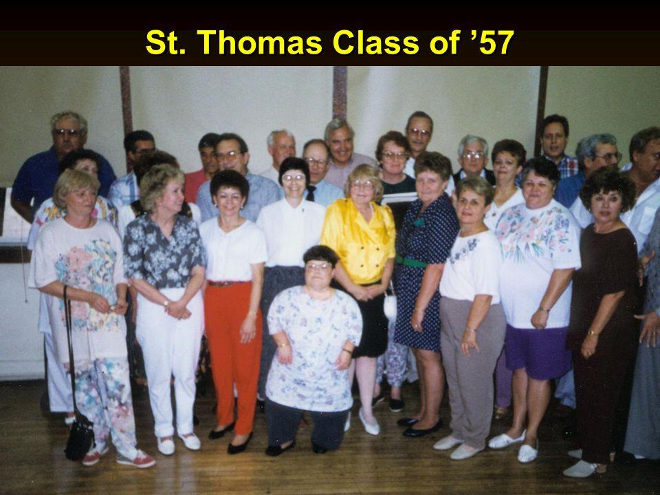 St. Thomas Class of 57