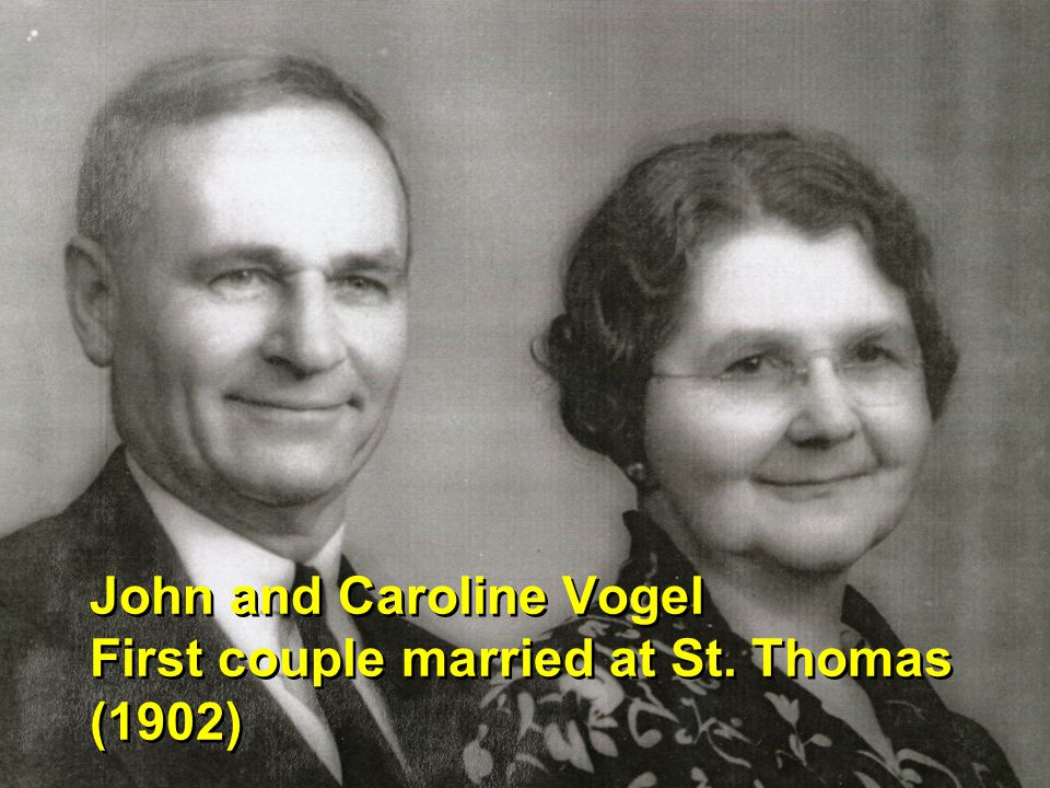 1927 Vogel-Watzek wedding party