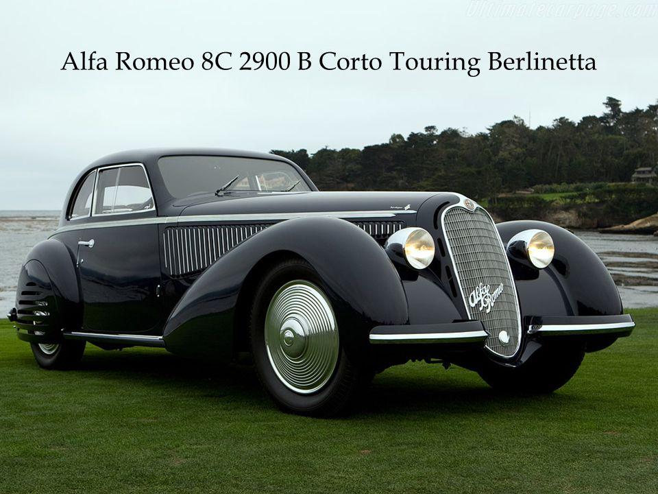 Alfa Romeo 8C 2900 B Corto Touring Berlinetta
