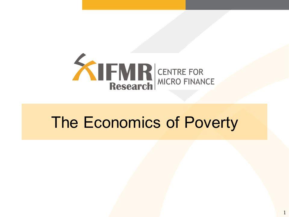 1 The Economics of Poverty
