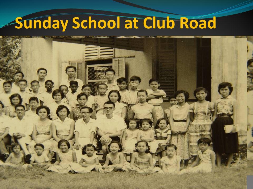 Sunday School at Club Road