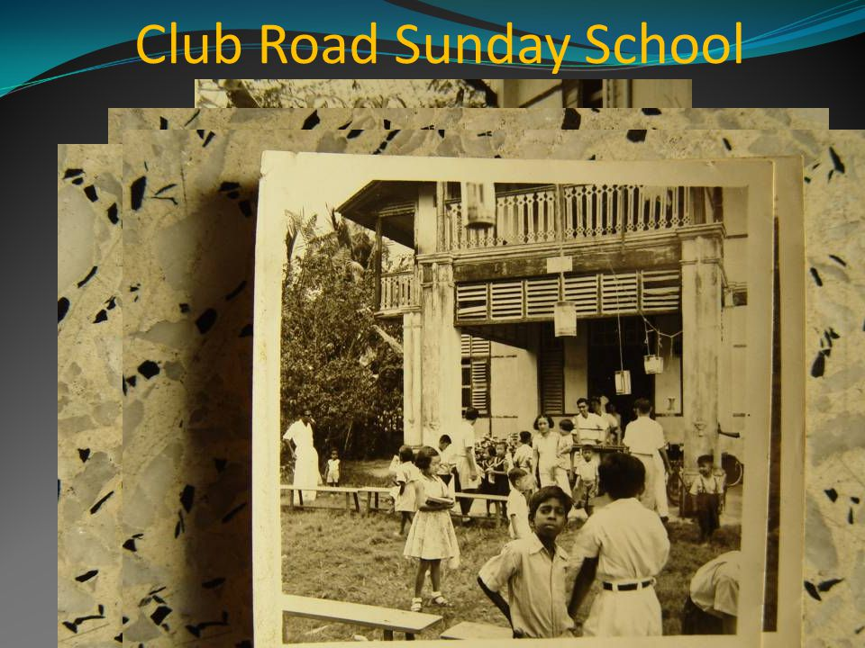 Club Road Sunday School in action