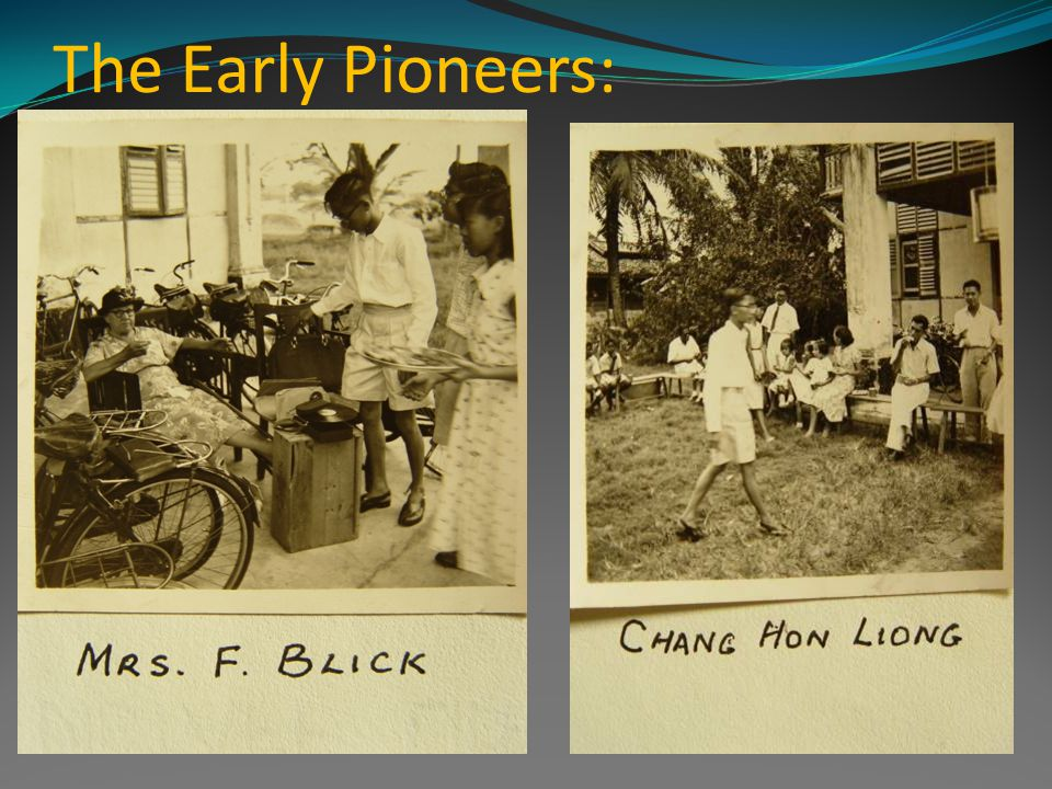 The Early Pioneers: