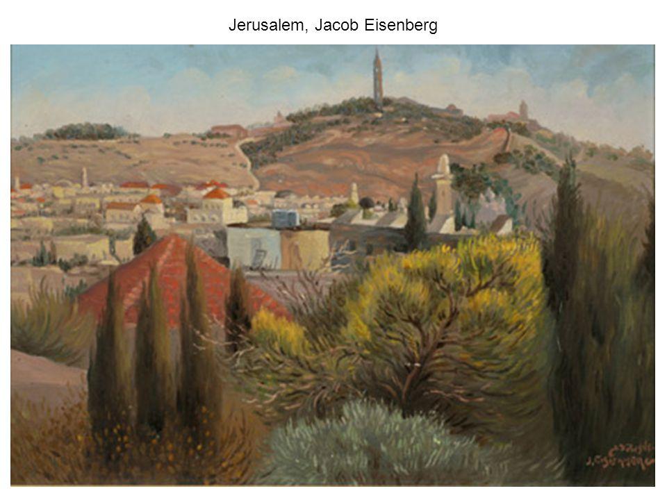 Yitzhak Frenkel (Frenel) Landscape Safed