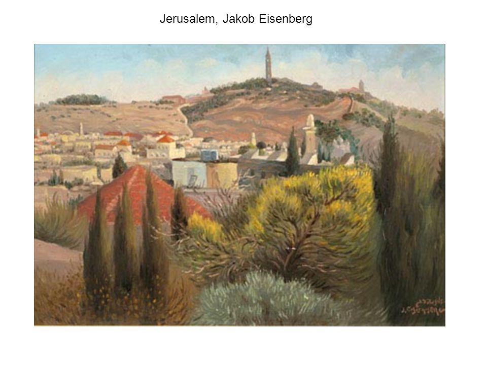 Jerusalem, Machane Yehuda Market, Ludwig Blum