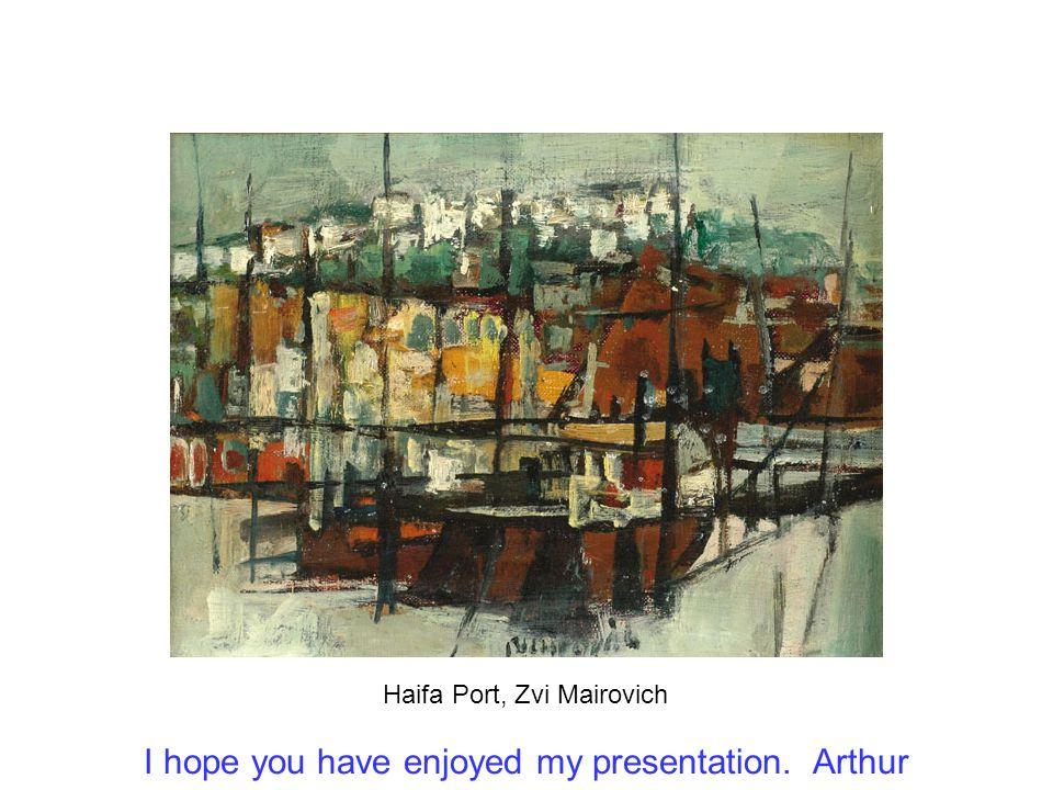Boats in the Port, Aharon Giladi