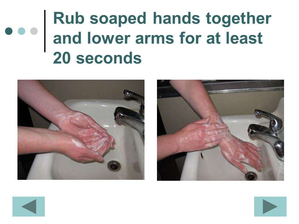 Keep scrubbing …