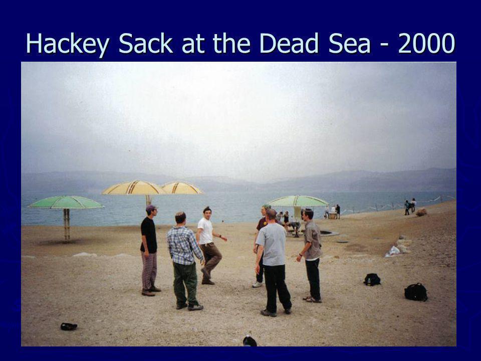 Hackey Sack at the Dead Sea - 2000