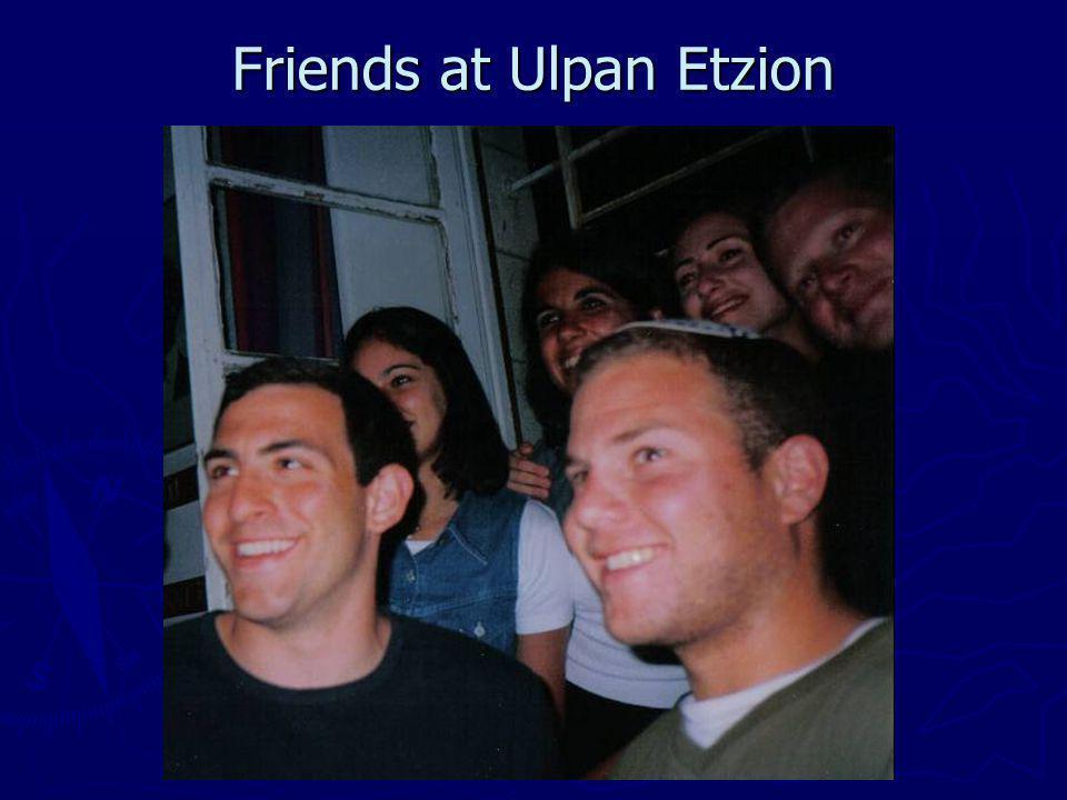 Friends at Ulpan Etzion