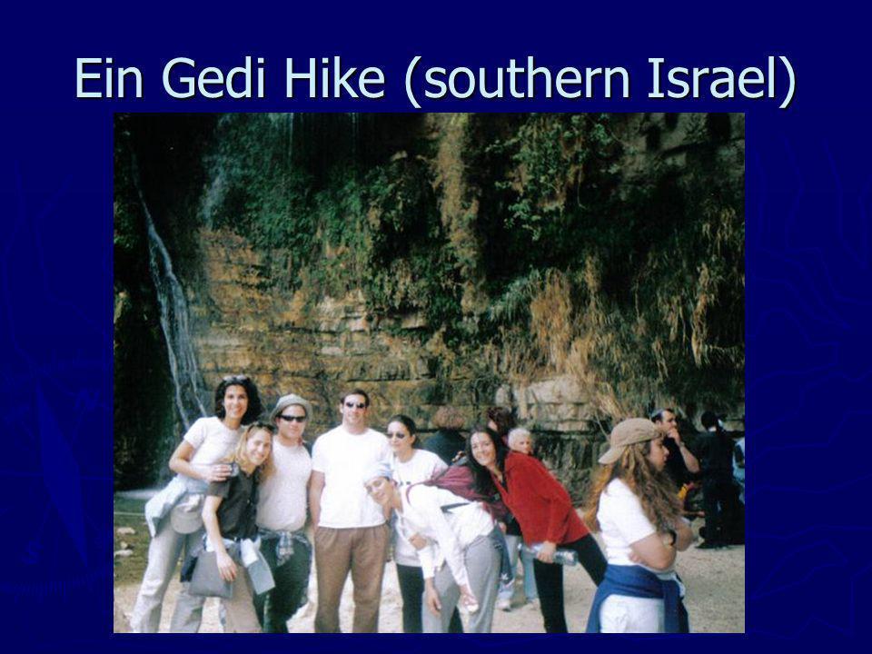 Ein Gedi Hike (southern Israel)