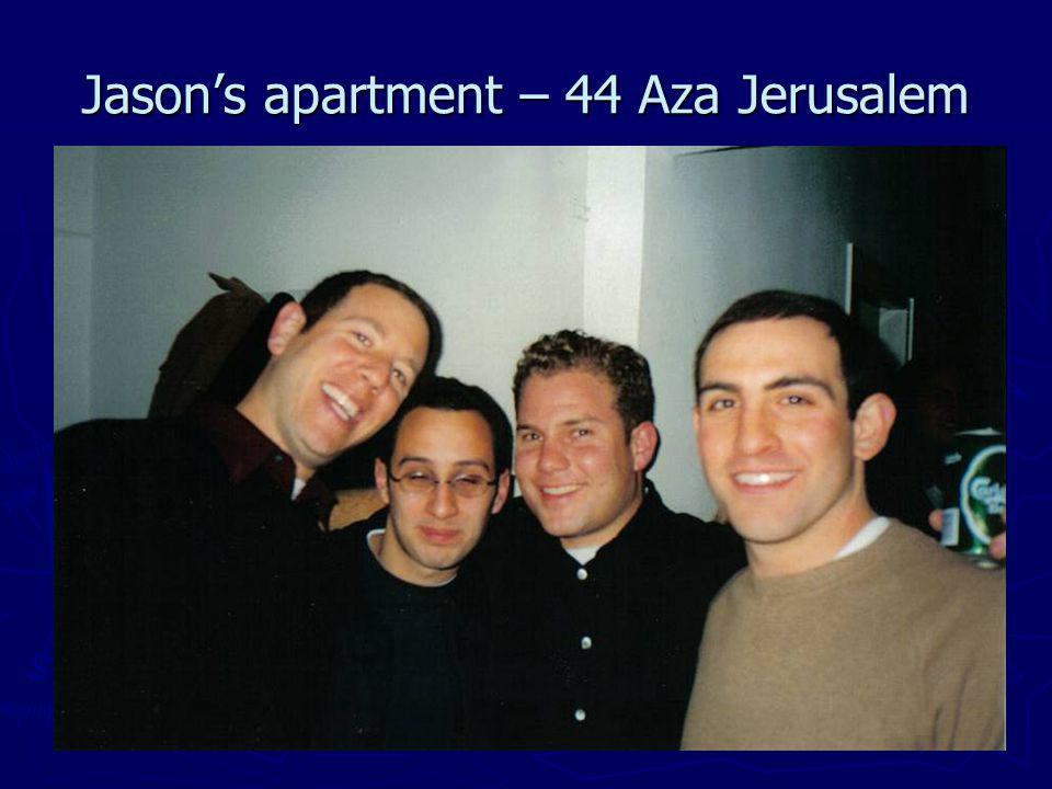Jasons apartment – 44 Aza Jerusalem