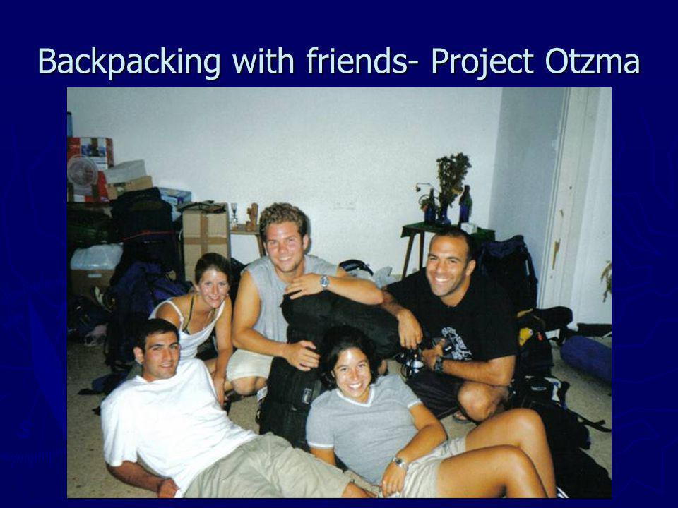 Backpacking with friends- Project Otzma