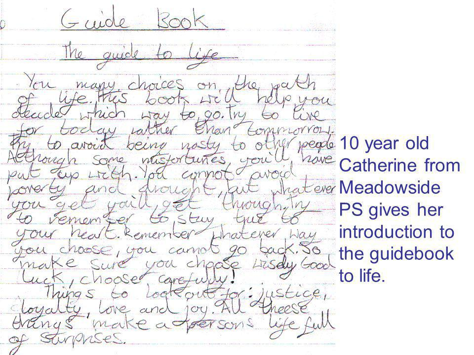 Emily, 7, has given us tow great ideas about life before birth and life after death.