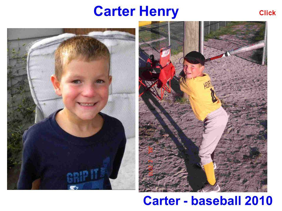 Carter Henry Click Carter - baseball 2010