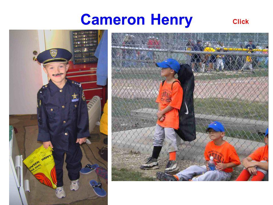 Cameron Henry Click