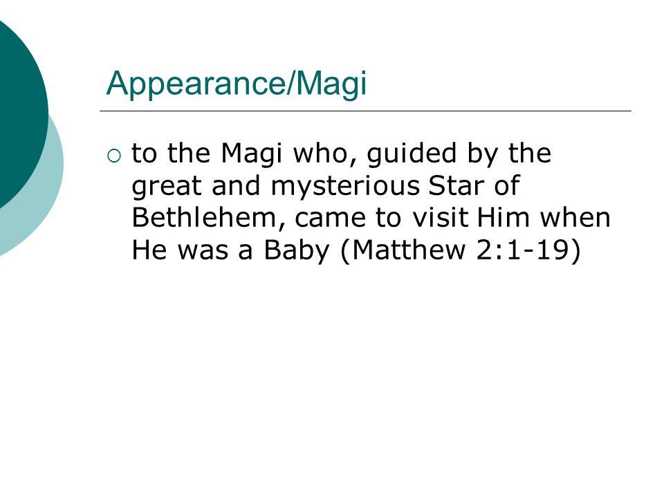 Revelation/Baptism through His Baptism by St.