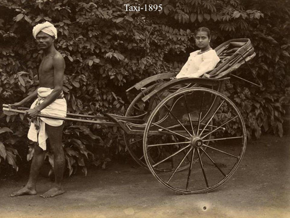 Taxi rank - Rickshaws