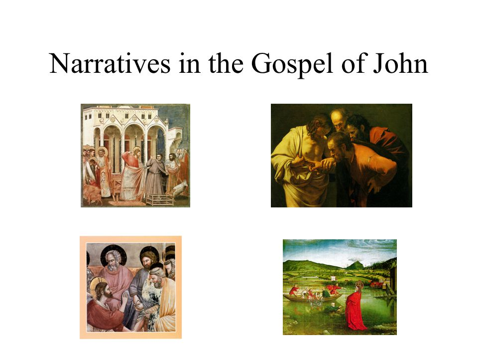 John 9.1-7: Healing of a Man Born Blind How is this miracle story Interpreted?