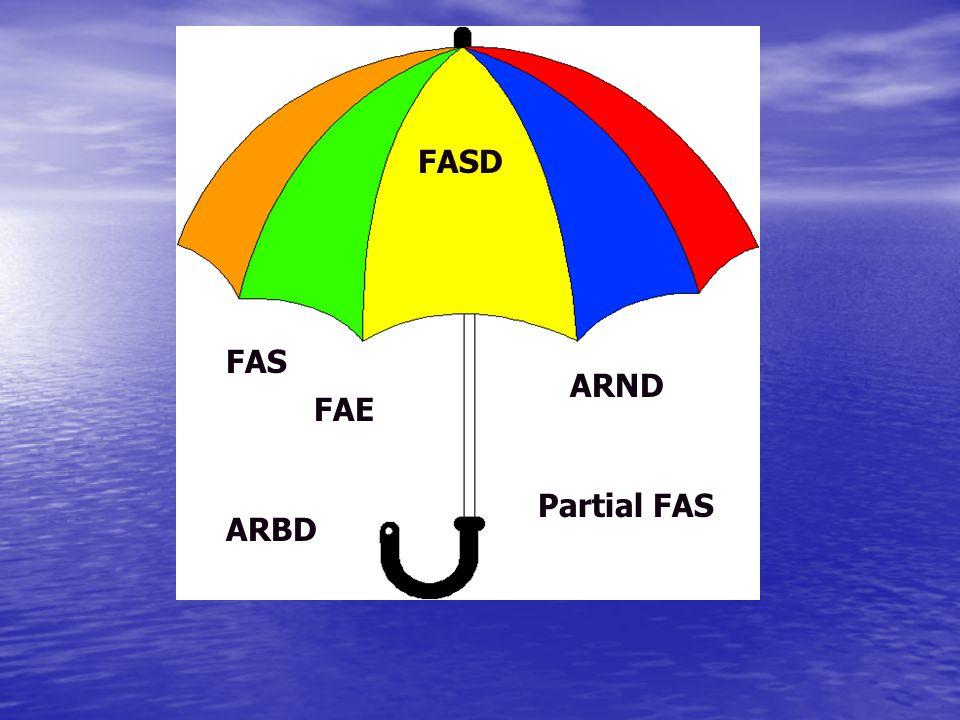 FAS FASD FAE ARND ARBD Partial FAS