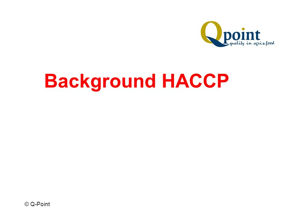 © Q-Point Background HACCP