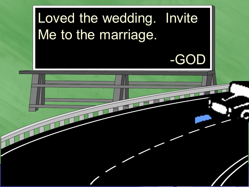 Loved the wedding. Invite Me to the marriage. -GOD