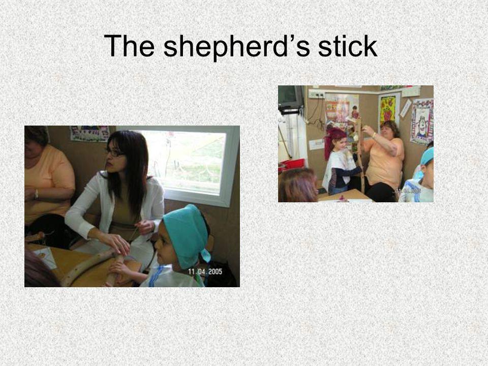 The shepherds stick