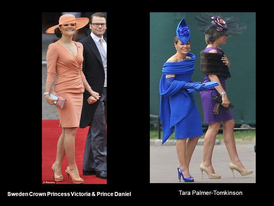 Sweden Crown Princess Victoria & Prince Daniel Tara Palmer-Tomkinson