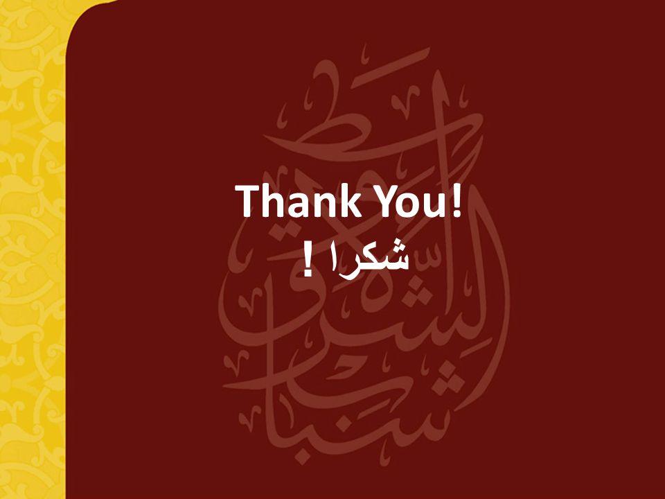 11 Thank You! ! شكرا