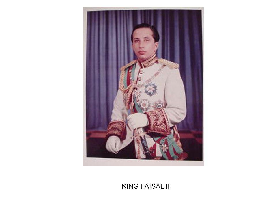 KING FAISAL II