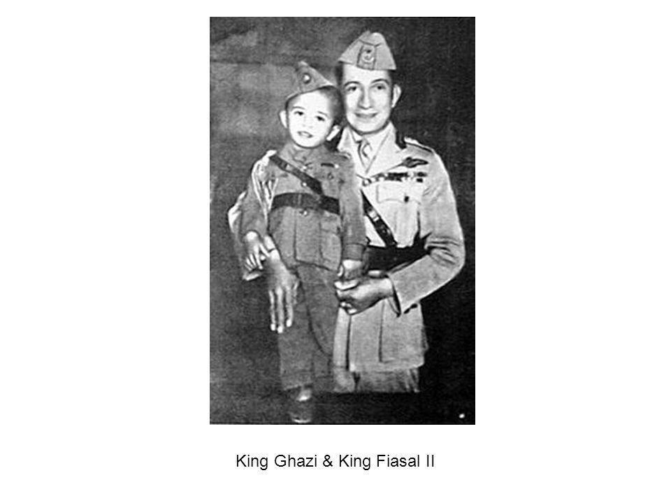 King Ghazi & King Fiasal II