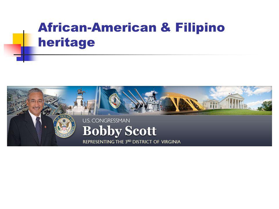 African-American & Filipino heritage