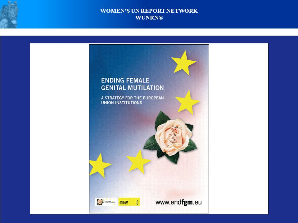 WOMENS UN REPORT NETWORK WUNRN® FORCED FGM - GIRL IN AGONY OF PAIN - SUSTAINED SUFFERING