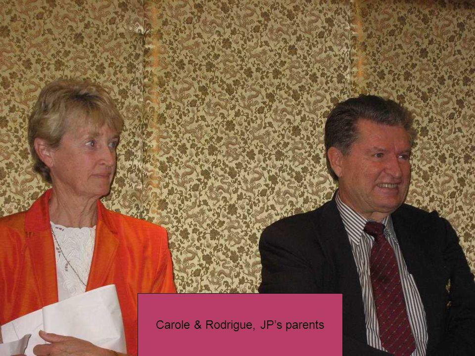Jean-Pauls family: Lorraine, Joanne, Alain, Stephane