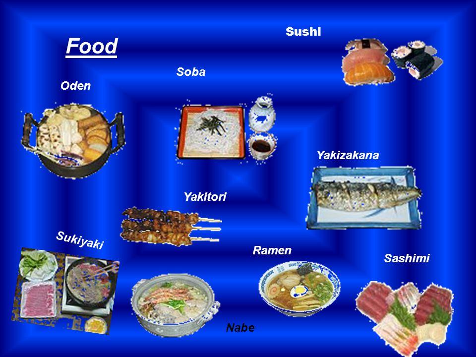 Food Soba Sashimi Yakizakana Oden Ramen Sukiyaki Nabe Yakitori Sushi