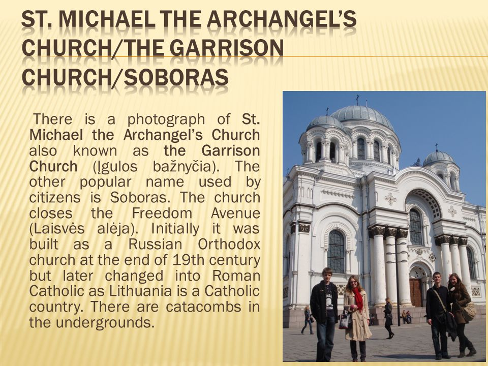 There is a photograph of St.
