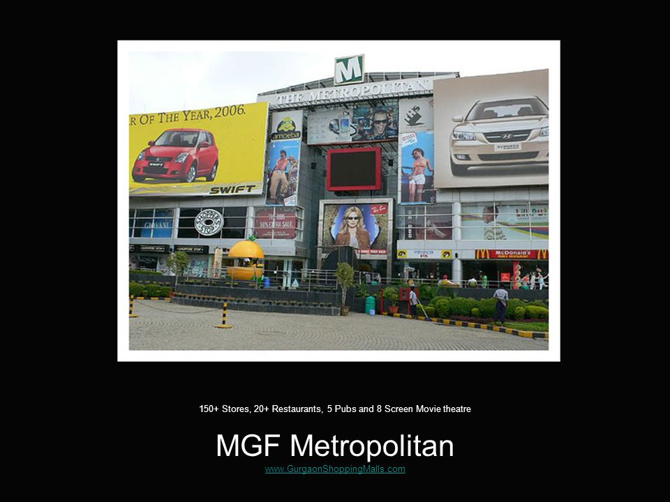 Its all in a mall – or is it not! www.GurgaonShoppingMalls.com