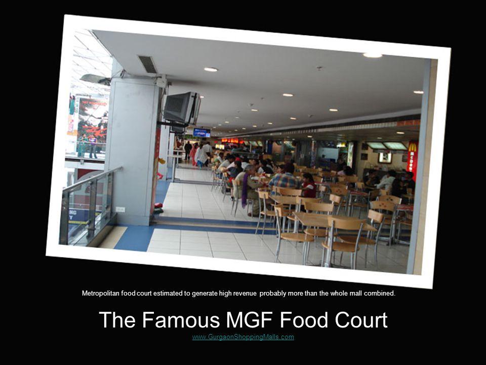 DLF Mega Mall www.GurgaonShoppingMalls.com www.GurgaonShoppingMalls.com 120+ Stores, 11 Restaurants, 4 Pubs, Karaoke lounge and a 3 Screen Movie Theatre.