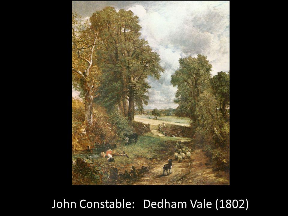 John Constable: Dedham Vale (1802)