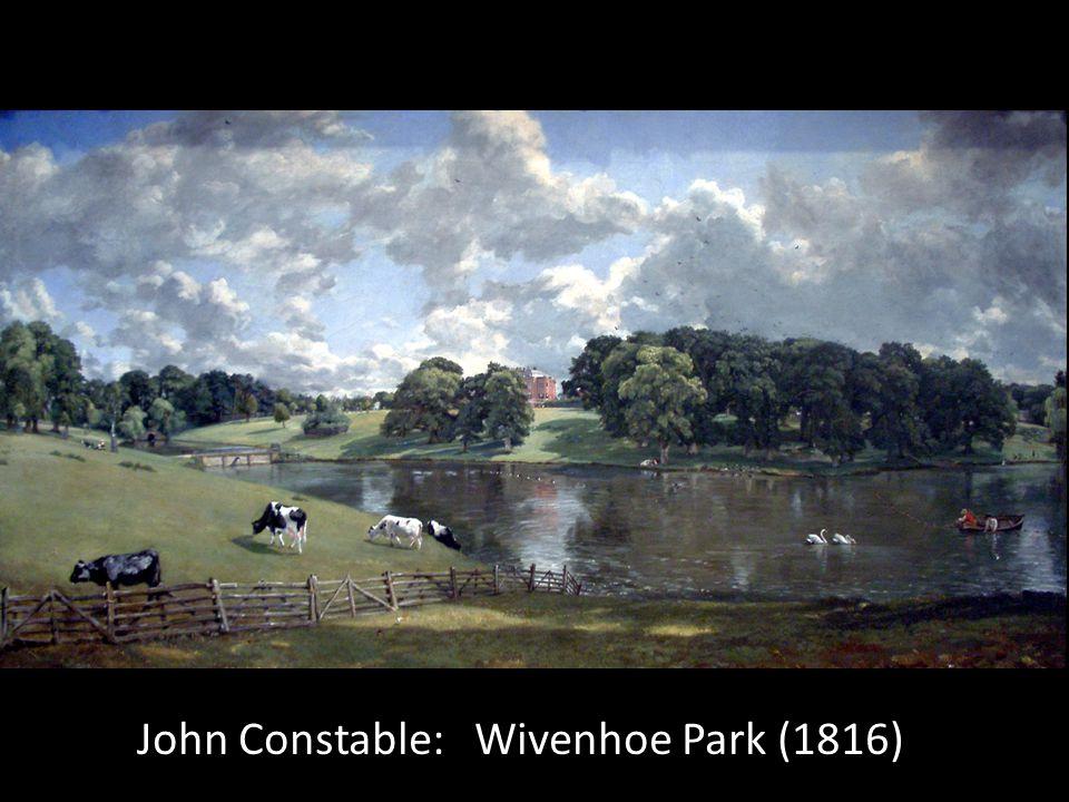 John Constable: Wivenhoe Park (1816)