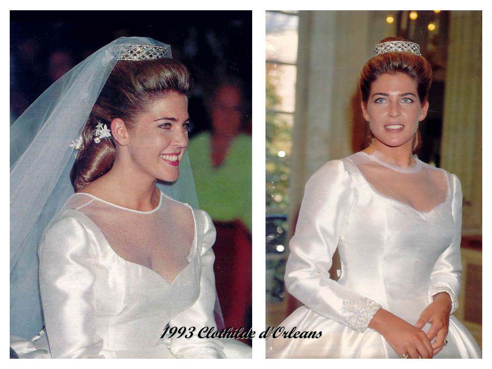 1993 Baroness Francesca Thyssen-Bornemisza winter wedding winter wedding