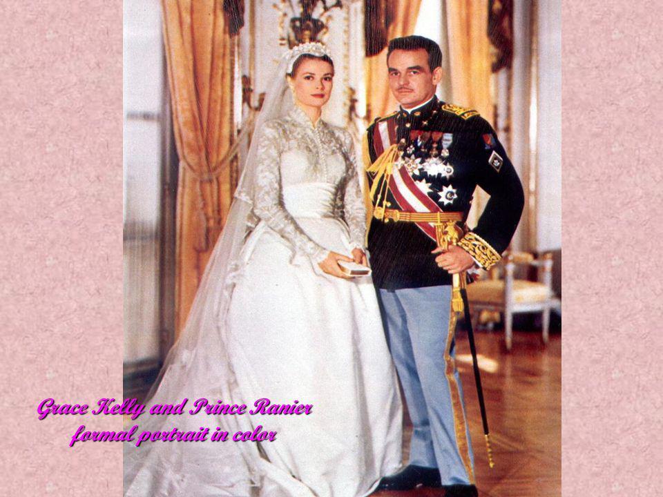 Princess Grace bridal party