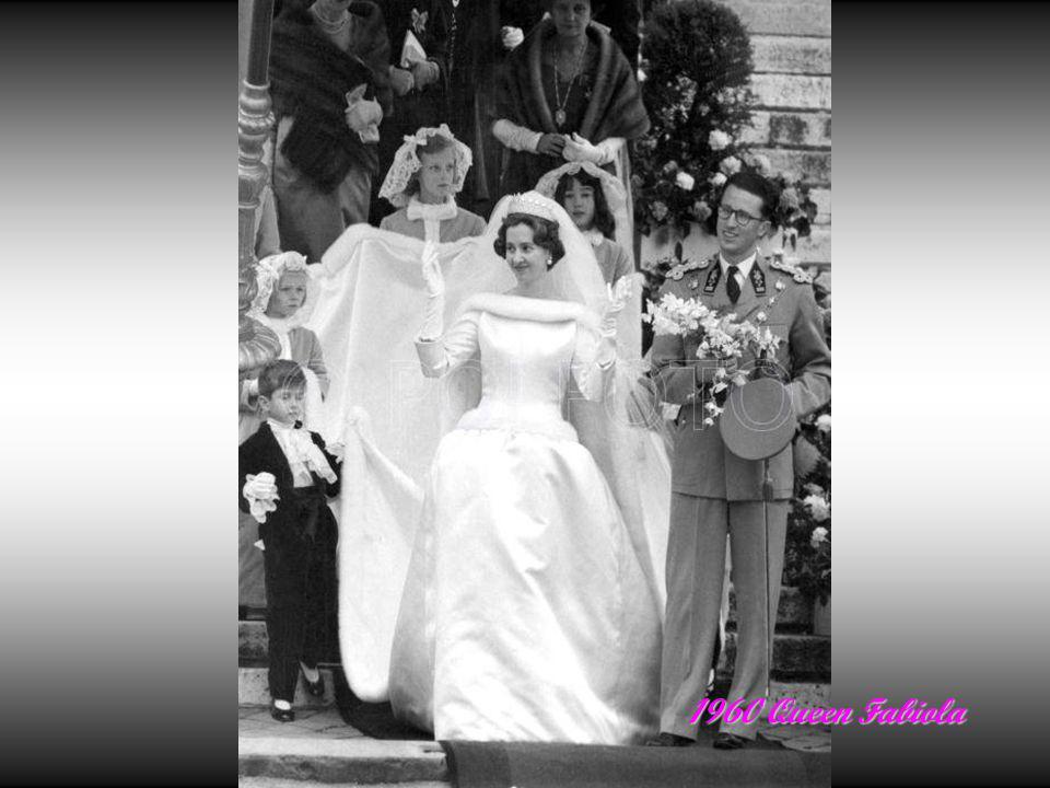 1953 Grand Duchess Josephine Charlotte wedding