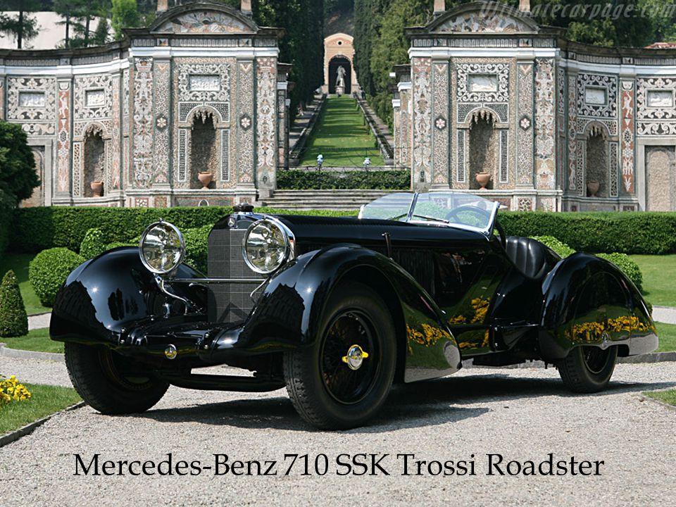 Mercedes-Benz 710 SSK Trossi Roadster