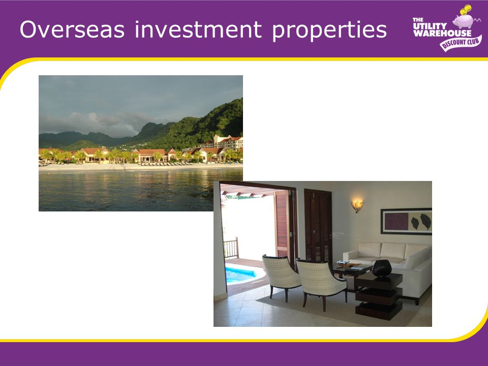Overseas investment properties