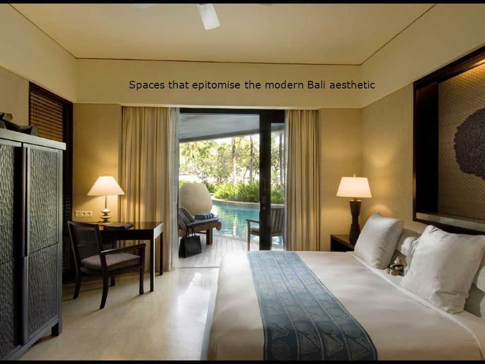 Spaces that epitomise the modern Bali aesthetic