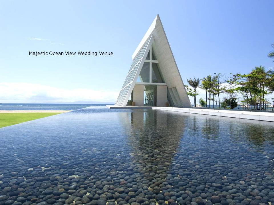Majestic Ocean View Wedding Venue