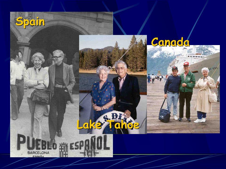 Spain Lake Tahoe Canada