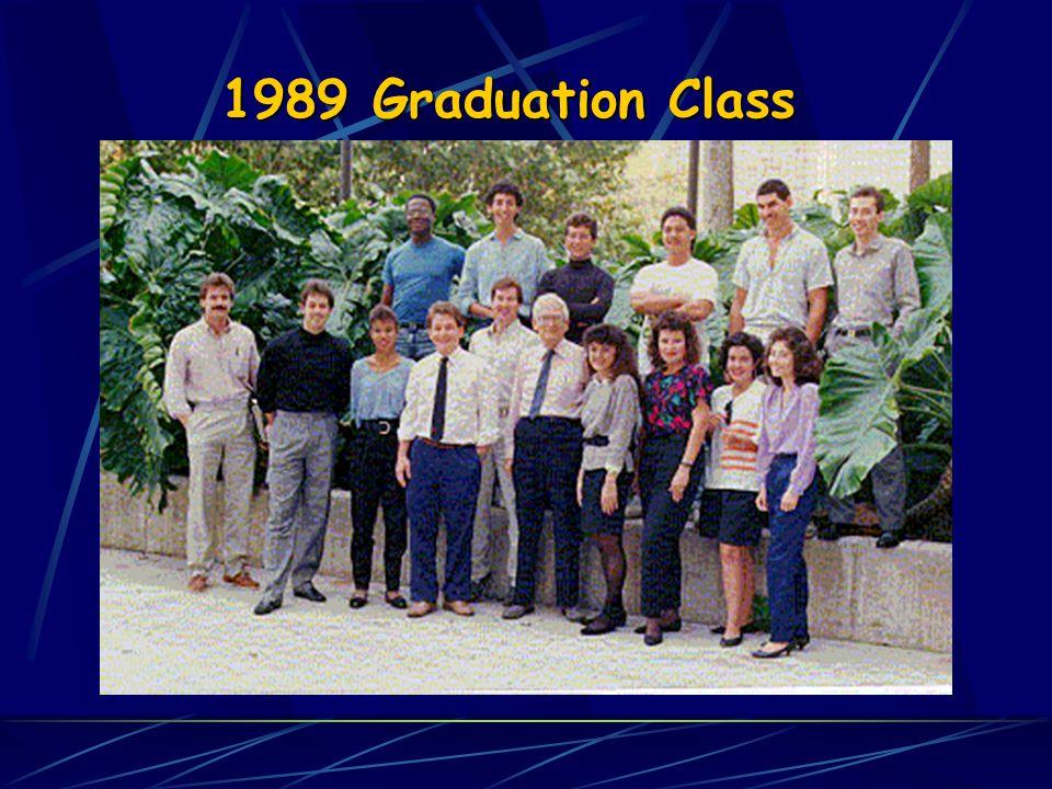 1989 Graduation Class